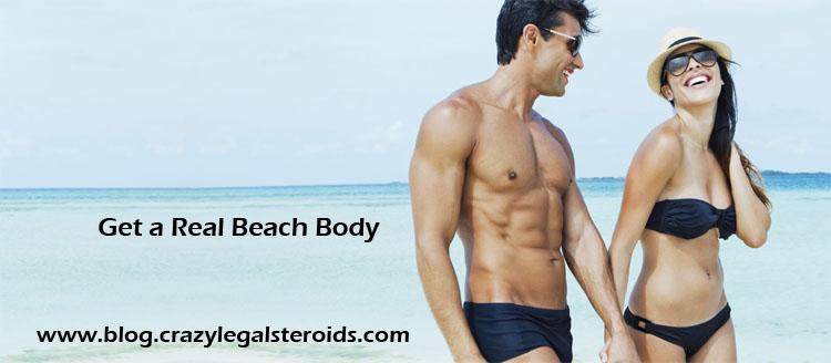 real beach body